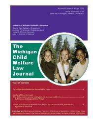 Winter 2013 - Chance at Childhood Program - Michigan State ...