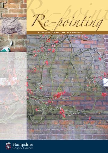 Download Re-Pointing - Hampshire County Council