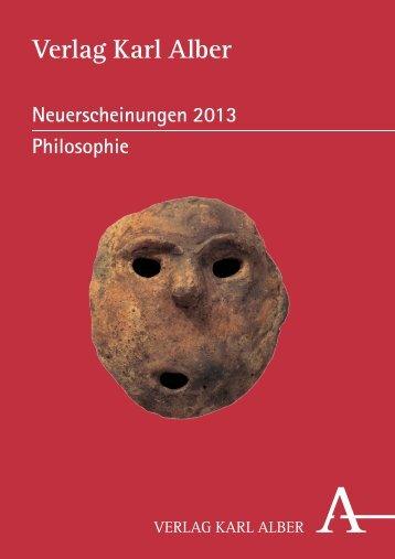 als PDF herunterladen - Verlag Karl Alber
