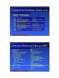 Relational Database Adaptors - XWeave - Page 4