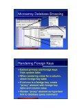 Relational Database Adaptors - XWeave - Page 6
