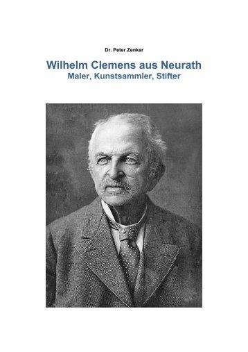 Wilhelm Clemens aus Neurath - Dr. Peter Zenker