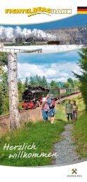 Broschüre Fichtelbergbahn