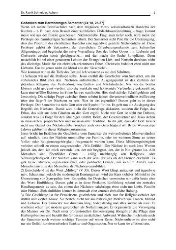 zum Text (pdf) - von Patrik Schneider