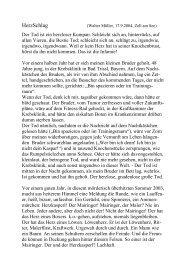 HerzSchlag - Peter Mairinger
