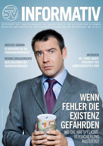 01/2013 - landesverband oberösterreich und salzburg