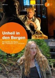 Unheil in den Bergen - ZDF Presseportal