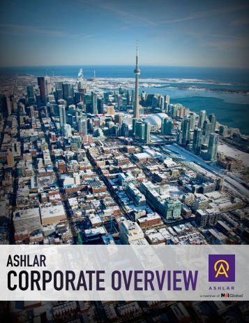 Download our Corporate Brochure - Ashlar Urban Reality