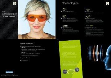 Schutzbrillen Technologien - Euronda