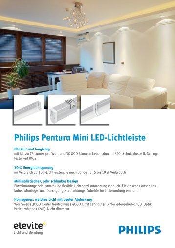 Philips Pentura Mini LED-Lichtleiste - Elevite AG