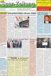 Schwarzbuch findet schwarze Schafe - Saar-Zeitung