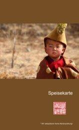 Speisekarte zum Download (PDF) - Gingerboy