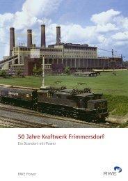 50 Jahre Kraftwerk Frimmersdorf - RWE