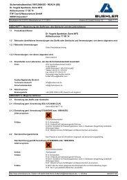 Dr. Vogels Sparbeize - Buehler GmbH