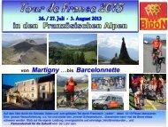 von Martigny ….bis Barcelonnette - teambidon.ch | Hobby ...