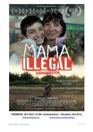 MAMA ILLEGAL Pressemappe Download