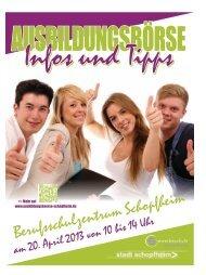 Magazin zur Ausbildungsboerse - ausbildungsboerse-schopfheim.de