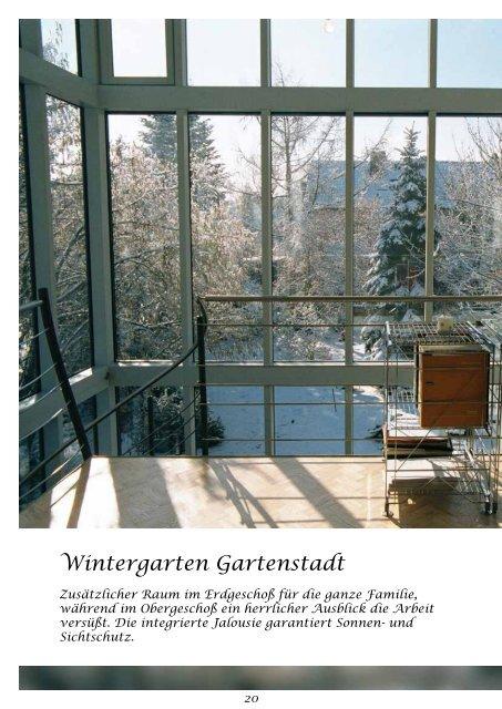 """Prospekt """"Träume aus Glas"""" - Wintergarten Schlenz"""