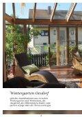 """Prospekt """"Träume aus Glas"""" - Wintergarten Schlenz - Seite 4"""