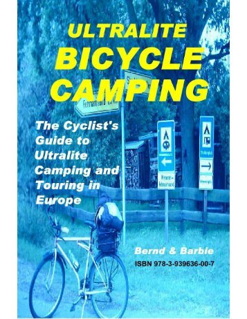 Ultralite Bicycle Camping - e-book - Bicycle Touring Pro