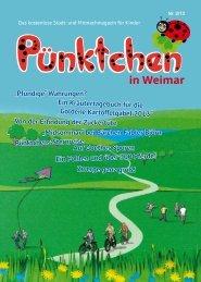 Ausgabe Weimar 02/13 - magazin-puenktchen.de