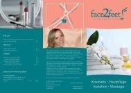 Unser Angebot - face2feet beauty & wellness