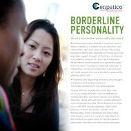 Borderline personality disorder - Sunshine State Health