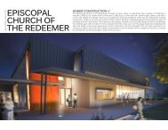 EPISCOPAL CHURCH OF THE REDEEMER - 5G Studio