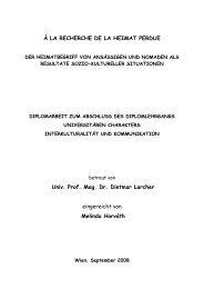 À la recherche de la Heimat perdue (pdf)