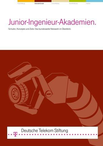 Schulen, Konzepte und Ziele (*.pdf) - Telekom Stiftung