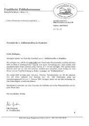 Protokoll des Treffens - Frankfurter Feldbahnmuseum eV