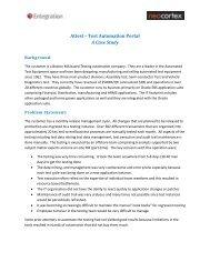 Attest – Test Automation Portal A Case Study - Neocortex