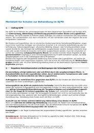 Merkblatt für Schulen zur Behandlung im KJPD - Schulsozialarbeit ...