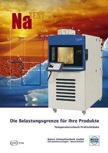 Temperaturschock-Prüfschrank Typ TS130
