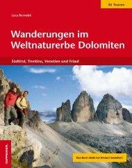 Wanderungen im Weltnaturerbe Dolomiten - Troier