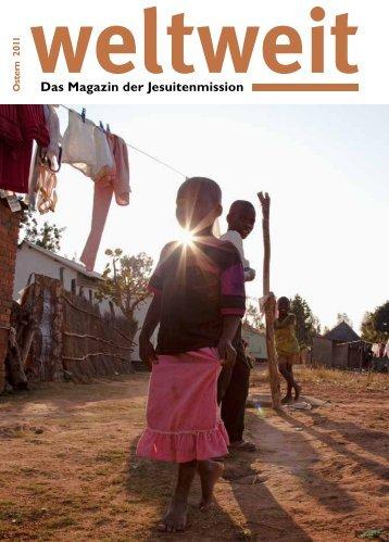 """""""weltweit"""" von 2011 über Makumbi - Jesuitenmission"""