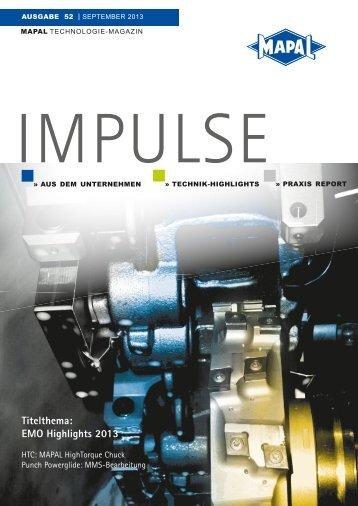 Impulse - MAPAL Dr. Kress KG