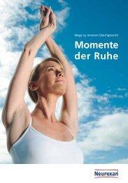Broschüre: Momente der Ruhe - Tipps gegen Stress