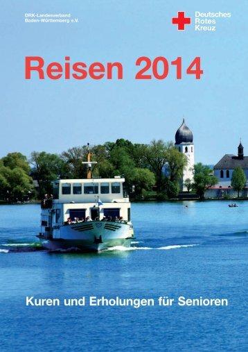 Seniorenreisen - Der neue Reisekatalog 2014 ist da! - DRK ...
