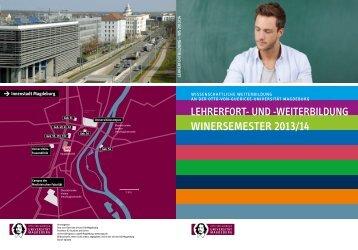 OVGU_Lehrerfortbildung.pd... - Otto-von-Guericke-Universität ...