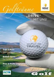 World of Travel - GOLFREISEWELTEN