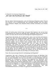 """""""Ich wer die Kuhhaut der Stadt"""" - Christian Reder"""