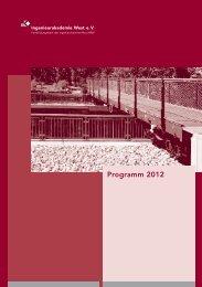 Programm 2012 - Ingenieurkammer-Bau Nordrhein-Westfalen