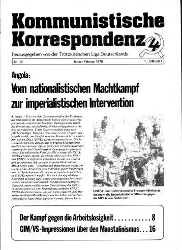 KK 12/76 - International Bolshevik Tendency