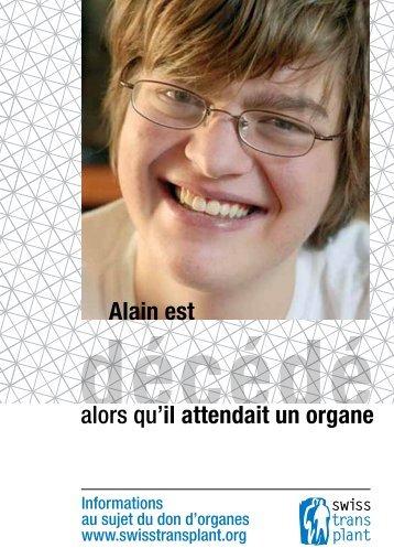 survécu alors qu'il attendait un organe n d'organe ... - Swisstransplant