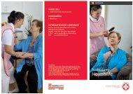 Folder Heimhilfekurse - Arbeiter-Samariter-Bund Österreichs