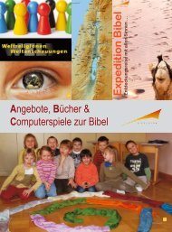 Angebote, Bücher & Computerspiele zur Bibel E xp ... - Diözese Linz