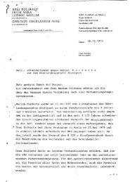 Erklärung zum Verfahren gegen Marion Folkerts - Social History portal