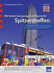 Event- und Congress-LocationGuide - Hessen
