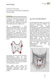 782 kB, PDF - Chirurgische Klink des Kantonsspitals St. Gallen ...